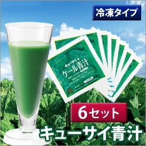 キューサイ 青汁 冷凍タイプ 6セット/90g×7袋×6
