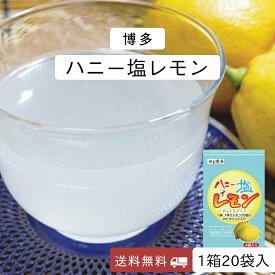レモン パウダー 塩レモン 粉末ジュース 国産 送料無料 1箱20袋入り