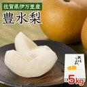 【送料無料】 豊作(5kg) 梨 豊水 佐賀 伊万里 九州 大川三世代