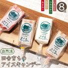 柳川育ちのアイスキャンデー8本(4種×2本)