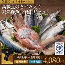【送料無料】天然鮮魚一夜干しセット