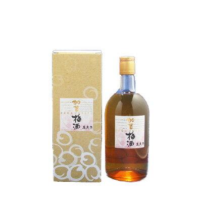 萬歳楽 加賀梅酒 14°720ml【RCP】