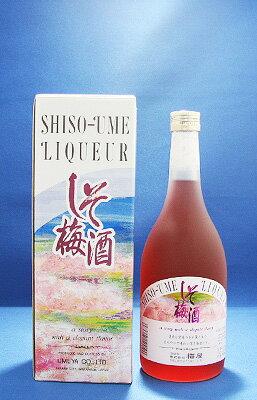 しそ梅酒14°720ml【RCP】