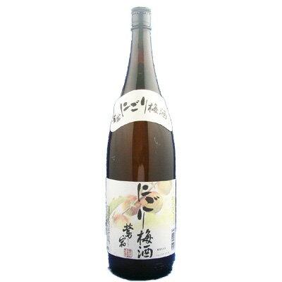 鶯宿 にごり梅酒 12°1800ml【RCP】