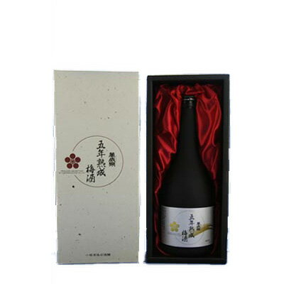 萬歳楽 五年熟成梅酒15°720ml【RCP】