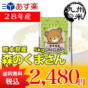 (28年産)熊本県産森のくまさん 5kg (森のくまさん)(米)(お米)(送料無料)