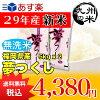 (送料無料)(29年産新米)(福岡県産)【無洗米】夢つくし5kg×2袋(10kg)(お米)
