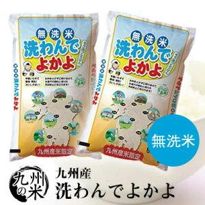 (あす楽対応)(送料無料)(令和元年産新米)【無洗米】洗わんでよかよ5kg×2袋【10kg】(ショップ・オブ・ザ・イヤー2018ジャンル賞受賞)
