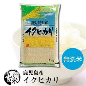 送料無料 無洗米 令和2年産 鹿児島県産イクヒカリ 5kg