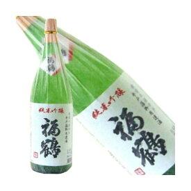 福鶴 純米吟醸1800ml瓶[長崎県:福田酒造][箱付]