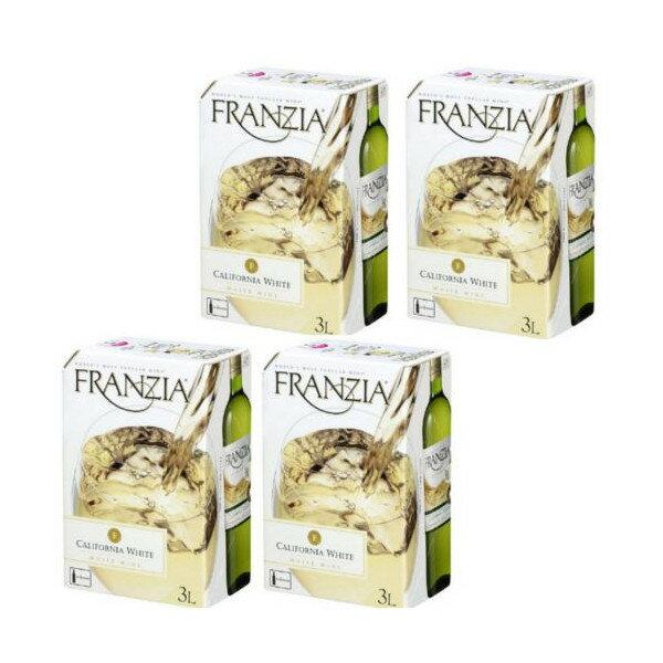 フランジア バッグインボックス (白ワイン)3000ml1ケース(4本)