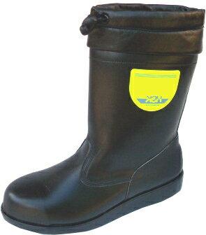 アスファルト舗装工事 周辺作業用安全靴 HSK208フード付【ノサックス】made in Japan