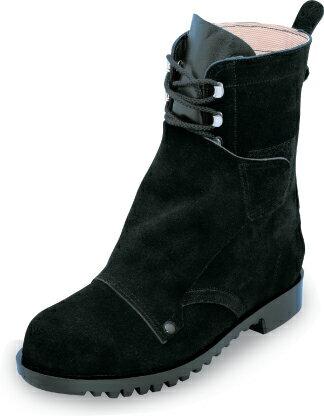 HR207K 溶接・炉前作業用編み上げ安全靴 【ノサックス】made in Japan