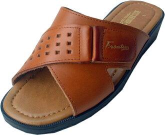 P27Mar15 men's leather Sandals 361