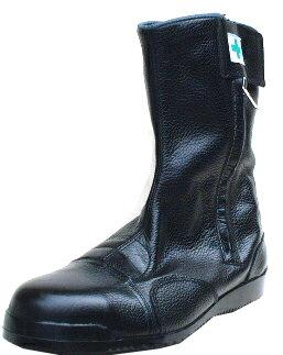 高所作業用安全靴 みやじま鳶 半長靴M208【ノサックス】made in Japan