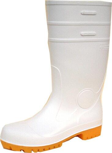 ゾナセーフティーS-01 白 (先芯入・耐油長靴) 22.5cm-30cm 弘進ゴム製