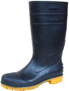 ゾナセーフティーS-01 黒 (先芯入・耐油長靴) 22.5cm-30cm 弘進ゴム製