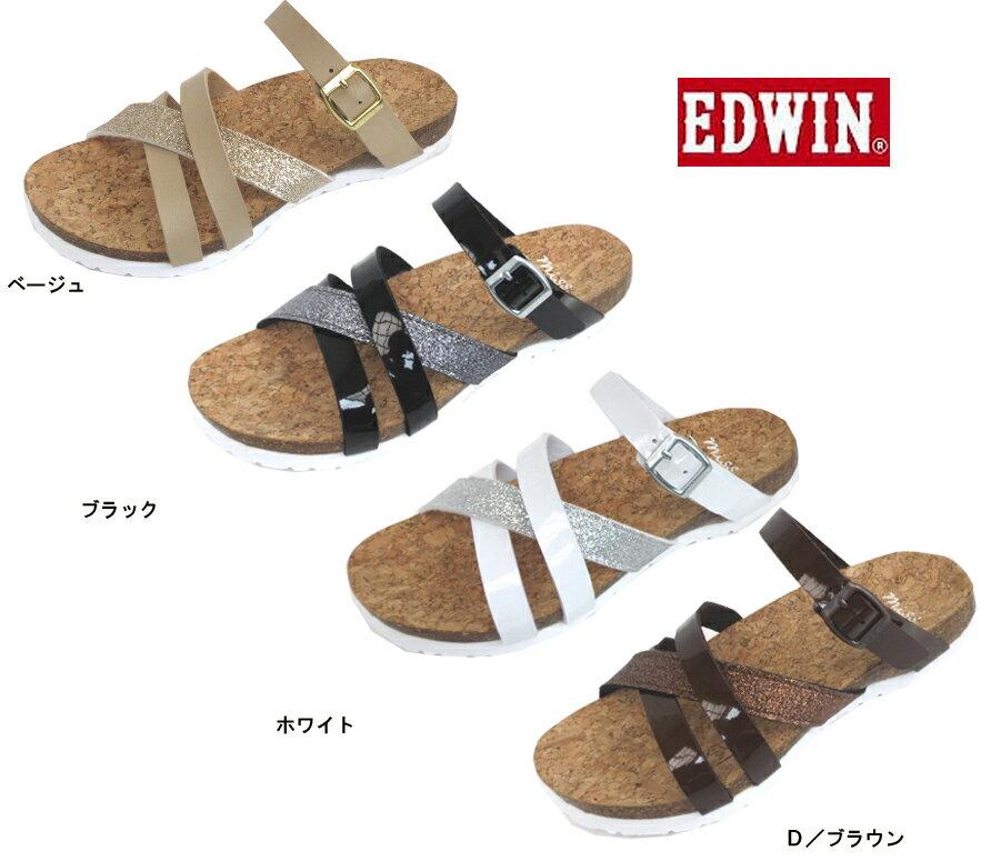 (EDWIN)エドウイン EW9460 婦人サンダル (ダイマツ)22-25cm