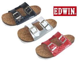 (EDWIN)エドウイン EW9833 チャイルドサンダル18-21cm(ダイマツ)フットベットサンダル