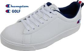 チャンピオン ゴルフシューズ CP GL017 ラウンドコートホワイト 55170191 2E設計 22.5-29cm 抗菌防臭設計