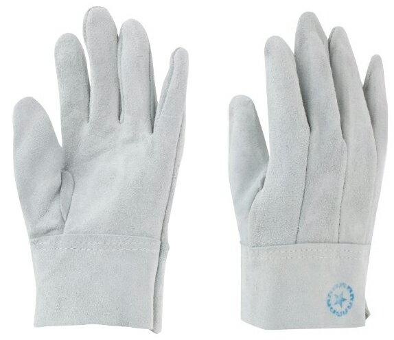 東和コーポレーション 革手袋 牛床革 M-A (内縫い) 451 フリー グレー 12双組 作業用革手袋