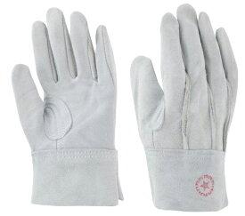 東和コーポレーション 革手袋 牛床革 M-A パチ付 (外縫い) 452 フリー グレー 12双組 作業用革手袋