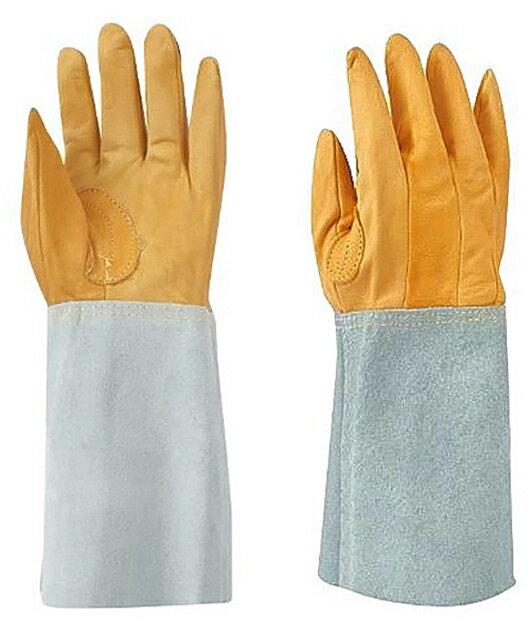 東和コーポレーション 溶接用 表革5本指 W-115 461 フリー 12双組 溶接用革手袋