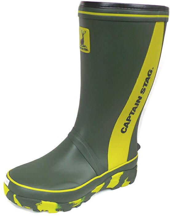 福山ゴム長靴 キャプテンスタッグ CS-2(完全防水)湿気追放サラサラインソール