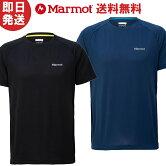 【ネコポス送料無料】MarmotマーモットTシャツAscentH/SCrewアセントハーフスリーブクルー登山トレッキングTOMNJA50