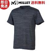 【ネコポス送料無料】MILLETミレーTシャツMメッシュクルーショートスリーブ登山トレッキングMIV01673