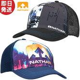 NATHANネイサンランナブルトラッカーキャップ帽子トレイルランニングトレランNS2070