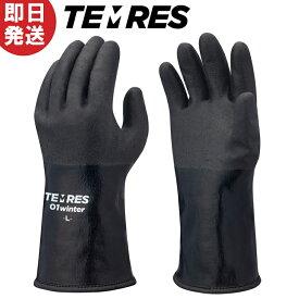 【ネコポス送料無料】テムレス ブラック TEMRES 01winter 防寒 ウィンター 手袋 グローブ TEMRES01WIN