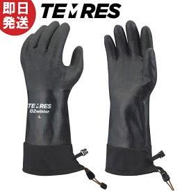 【ネコポス送料無料】テムレス ブラック TEMRES 02winter 防寒 ウィンター 手袋 グローブ TEMRES02WIN