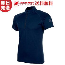 【ネコポス送料無料】MAMMUT マムート Tシャツ Performance Dry Zip T-Shirt Men パフォーマンス ドライジップ ティーシャツ メンズ 登山 トレッキング 1017-00440
