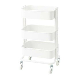 IKEA キッチンワゴン RASHULT ロースフルト ホワイト 38x28x65 cm