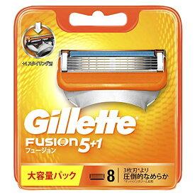 ジレット フュージョン5+1 マニュアル 髭剃り カミソリ 男性 8個入り