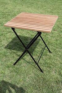 ジャービス 折り畳みアイアンチークテーブル 34219