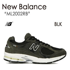 New Balance ニューバランス BLACK ML2002RB ブラック ML2002【中古】未使用品
