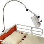 介護ベッド用テレビ「アーチ」:13インチテレビ・ベッドホルダー取付タイプ