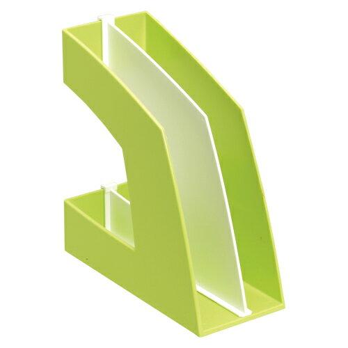 ソニック【ソニック】ファイルボックス 縦型 グリーン FB-708-G★【FB708G】【AC-00007606】
