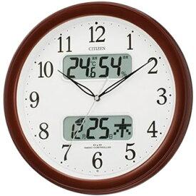 リズム時計工業【CITIZEN】ネムリーナカレンダーM01 4FYA01-006★電波掛時計【4FYA01006】