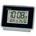 セイコー【SEIKO】温湿度計付き 電波デジタル時計★【SQ767K】