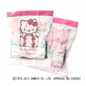 カシムラ【ハローキティ】圧縮袋 2枚入り(Lサイズ) TK-8★【TK8】