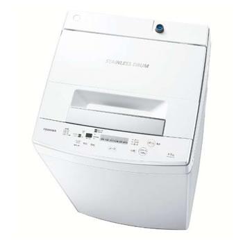東芝【TOSHIBA】4.5kg 全自動洗濯機 AW-45M7-W★【AW45M7W】