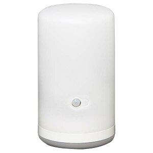 乾電池式LED屋内センサーライト スタンドタイプ 電球色相当 BSL-10L