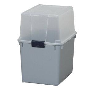 【屋外収納】ポリタンクボックス AB-360 クリア/グレー アイリスオーヤマ(給油、灯油、収納、ポリタンク収納、ポリタンクボックス)送料無料