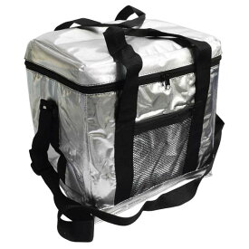 【クーラーボックス 保冷バッグ クーラーバッグ 送料無料】全国家庭用品卸商業協同組合クーラーバッグ Lサイズ シルバー【TC】【取寄せ品】