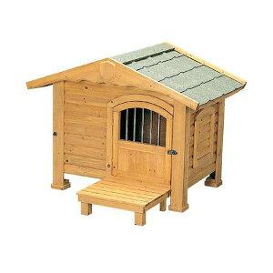 【犬小屋・大型犬】ロッジ犬舎 RK-950 ブラウン【アイリスオーヤマ】 送料無料