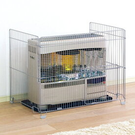 ストーブガード SS-850N アイリスオーヤマ暖房器具 安全用品 ベビー安全対策 FF式対応 ペットサークル ベビーサークル 子供 赤ちゃん 柵 送料無料