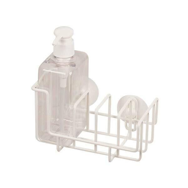パール金属 スクエアライン ボトル付クリーナーラック ホワイト HB-1051(m.t.i)【TC】